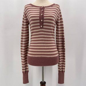 Paper Denim & Cloth Mercerized Wool Pink Sweater